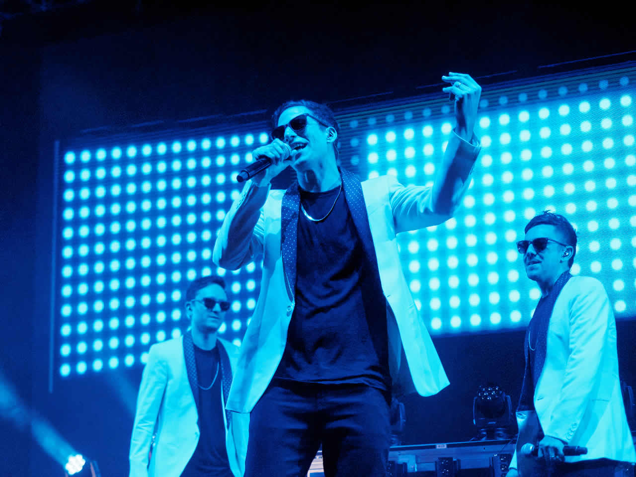 <div class='meta'><div class='origin-logo' data-origin='none'></div><span class='caption-text' data-credit='KGO-TV'>The Lonely Island is seen performing at Clusterfest in San Francisco, Calif. on June 1, 2018.</span></div>