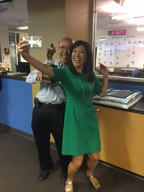 "<div class=""meta image-caption""><div class=""origin-logo origin-image none""><span>none</span></div><span class=""caption-text"">ABC7 threw a party for reporter David Louie, who is celebrating 45 years at the station, on Monday, June 5, 2017 in San Francisco. (KGO-TV)</span></div>"
