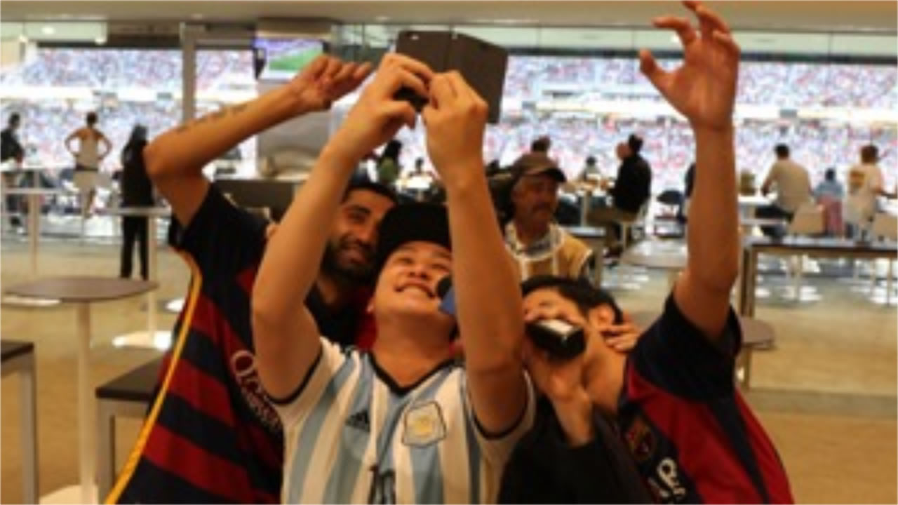 <div class='meta'><div class='origin-logo' data-origin='none'></div><span class='caption-text' data-credit='KGO-TV'>Chile vs. Argentina at Levi's Stadium on Monday, June 6, 2016. We want to see your fan pride, so tag your photos #ABC7Now and we may feature them here or on TV.</span></div>