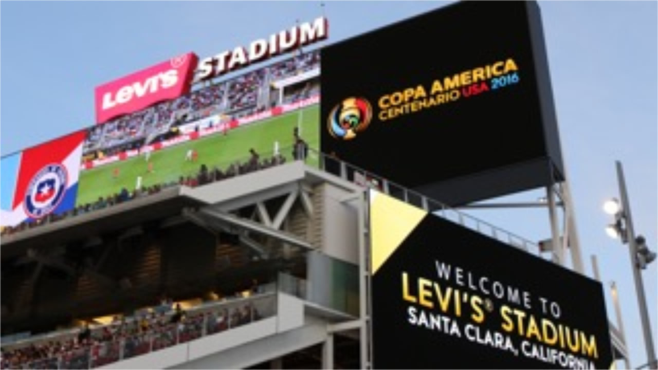 <div class='meta'><div class='origin-logo' data-origin='none'></div><span class='caption-text' data-credit='KGO-TV'>Chile vs. Argentina at Levi's Stadium on Monday, June 3, 2016. We want to see your fan pride, so tag your photos #ABC7Now and we may feature them here or on TV.</span></div>