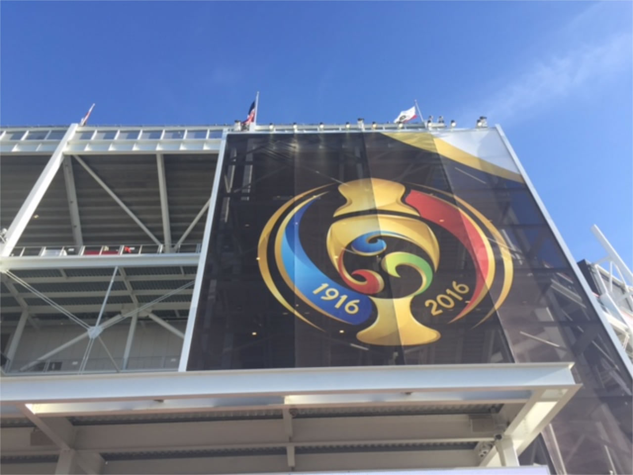 <div class='meta'><div class='origin-logo' data-origin='none'></div><span class='caption-text' data-credit='KGO-TV'>Levi's Stadium in Santa Clara, Calif., on Monday, June 6, 2016. We want to see your fan pride, so tag your photos #ABC7Now and we may feature them here or on TV.</span></div>