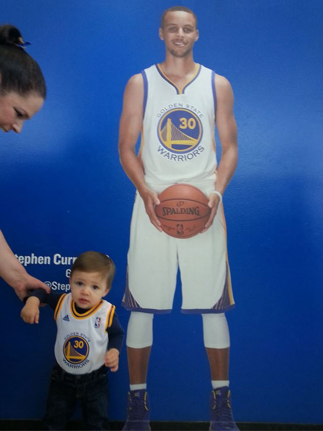 <div class='meta'><div class='origin-logo' data-origin='none'></div><span class='caption-text' data-credit='Tag your photos on Facebook, Twitter, Google Plus or Instagram using #DubsOn7.'>This kid is measuring up to be a true Warriors fan! Photo submitted to KGO-TV by Marie Russo/Facebook</span></div>