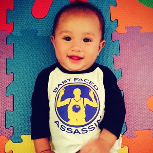 <div class='meta'><div class='origin-logo' data-origin='none'></div><span class='caption-text' data-credit='Photo submitted to KGO-TV by wavysay/Instagram'>This little Warriors fan is ready to see them become NBA champs! Tag photos on Twitter, Facebook, Google Plus and Instagram using #DubsOn7,</span></div>