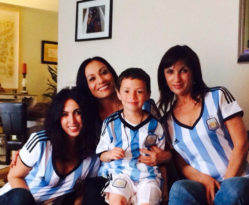 Go Argentina! World Cup celebrations are happening all around the Bay Area. Send your photos to uReport@kgo-tv.com! <span class=meta>(photo submitted Isabel Gutierrez via Facebook)</span>