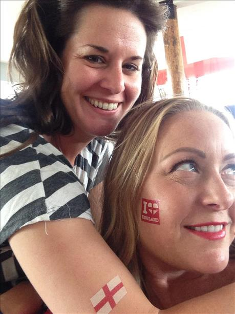 Fans at Wellinton's Wine Bar in Sausalito root for England! World Cup celebrations are happening all around the Bay Area. Send your photos to uReport@kgo-tv.com! <span class=meta>photo submitted  via uReport</span>