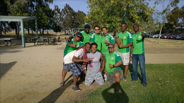 Representing Nigeria! World Cup celebrations are happening all around the Bay Area. Send your photos to uReport@kgo-tv.com!   <span class=meta>(photo submitted by Eze Egwuatu via uReport)</span>