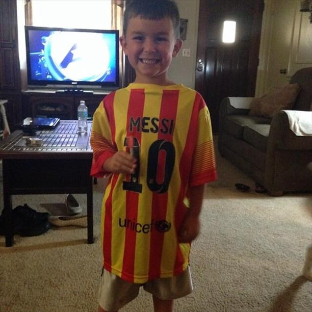 Go Messi! World Cup celebrations are happening all around the Bay Area.  Send your photos to uReport@kgo-tv.com <span class=meta>photo submitted by Angie via uReport</span>