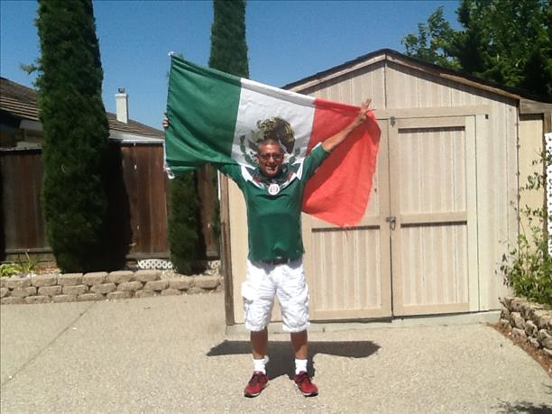 Mexico fan from Pittsburg!  World Cup celebrations are happening all around the Bay Area!  Send your photos to uReport@kgo-tv.com <span class=meta>photo submitted by Ernesto Ortiz via uReport</span>