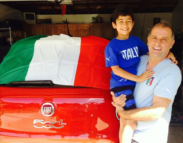 This family is rooting Italy all the way.  Keep sending in your World Cup fan photos! <span class=meta>(photo submitted via uReport)</span>