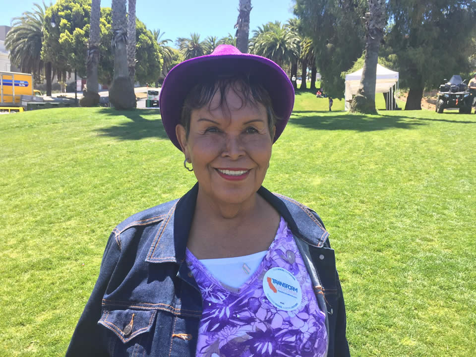 "<div class=""meta image-caption""><div class=""origin-logo origin-image none""><span>none</span></div><span class=""caption-text"">Felicia Elizondo -- an AIDS survivor, Vietnam veteran, and transgender person -- is seen at the LGBT Youth and Elder Brunch at Dolores Park in San Francisco on June 24, 2016. (Lyanne Melendez/KGO-TV)</span></div>"