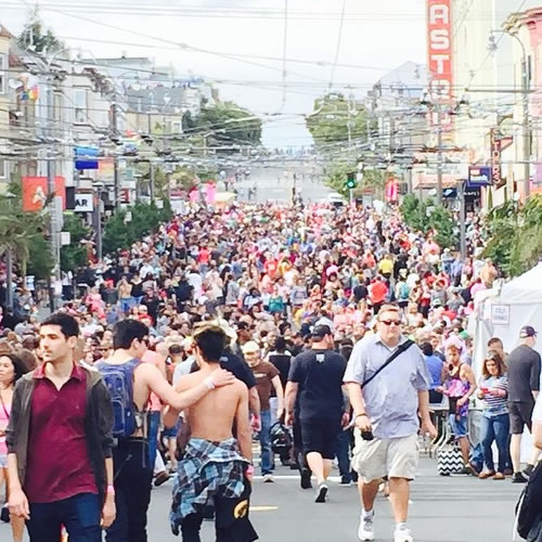 <div class='meta'><div class='origin-logo' data-origin='none'></div><span class='caption-text' data-credit='Photo submitted to KGO-TV by dee72/Instagram'>Thousands flock to San Francisco for the 45th annual Pride celebration on Saturday, June 27, 2015. Tag your pics on Twitter, Instagram, Facebook and Google Plus using #abc7now.</span></div>