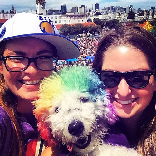 <div class='meta'><div class='origin-logo' data-origin='none'></div><span class='caption-text' data-credit='KGO-TV'>Thousands flock to San Francisco for the 45th annual Pride celebration on Saturday, June 27, 2015. Tag your pics on Twitter, Instagram, Facebook and Google Plus using #abc7now.</span></div>