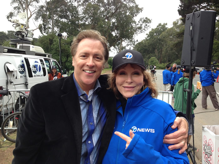 ABC7 has been a proud sponsor of AIDS Walk San Francisco since 1988! <span class=meta>(KGO)</span>