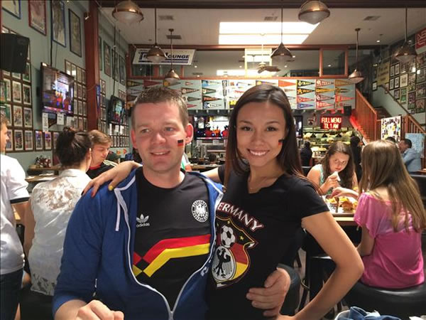 Big Germany fans! Keep sending in your World Cup fan photos! <span class=meta>photo submitted by Stephan Iammel via uReport</span>