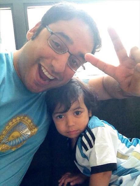 Big Argentina fans! Keep sending in your World Cup fan photos! <span class=meta>photo submitted via uReport</span>