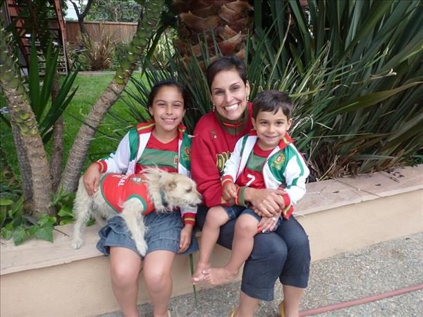 Family fun time rooting for Portugal! Keep sending in your World Cup fan photos! <span class=meta>(photo submitted via uReport)</span>