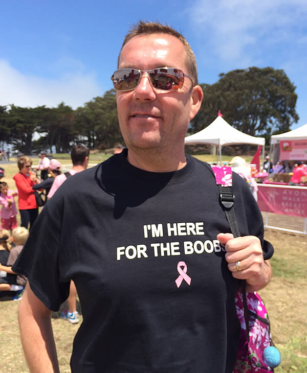 12th annual Avon Walk for Breast Cancer in San Francisco