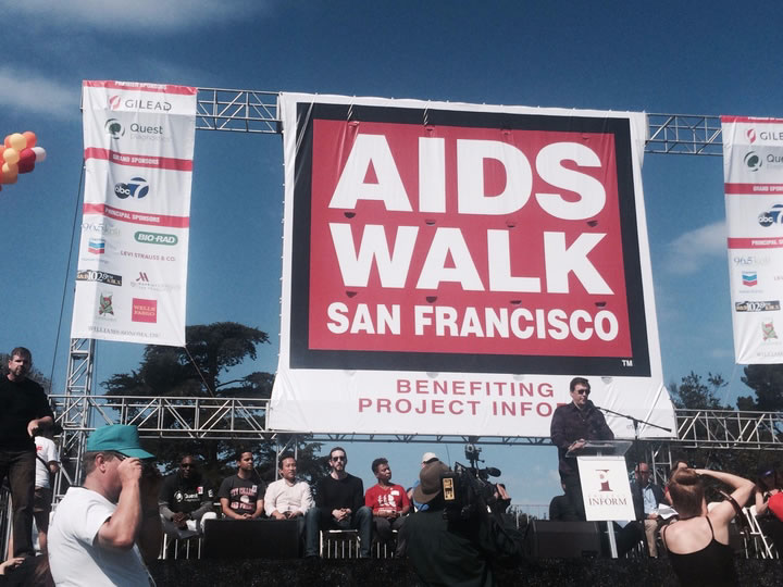 <div class='meta'><div class='origin-logo' data-origin='none'></div><span class='caption-text' data-credit='KGO-TV'>ABC7 News anchor Dan Ashley hosts the AIDS Walk San Francisco ceremony in Golden Gate Park on Sunday, July 19, 2015.</span></div>