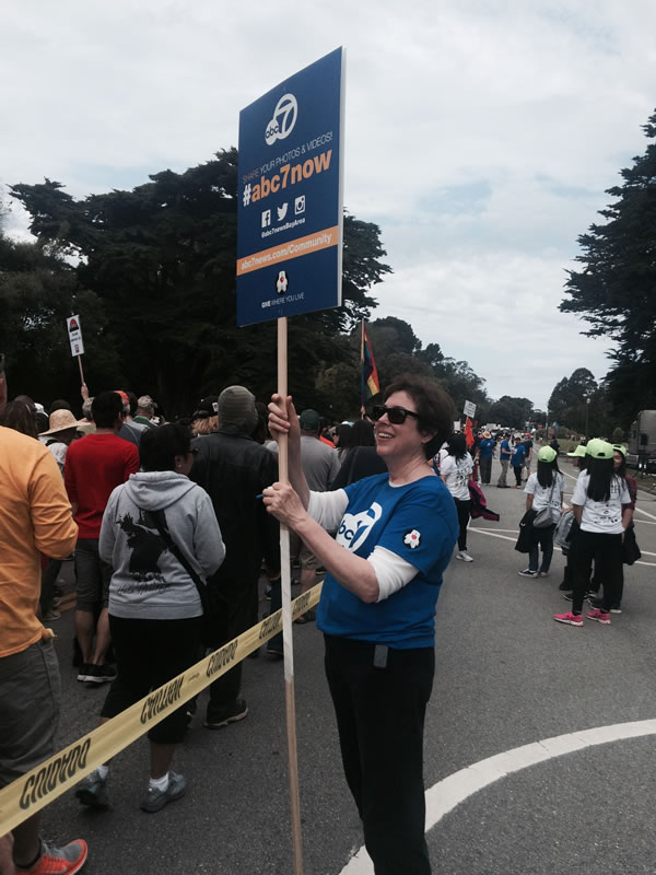 <div class='meta'><div class='origin-logo' data-origin='none'></div><span class='caption-text' data-credit='KGO-TV'>The ABC7 News team is at AIDS Walk San Francisco in Golden Gate Park on Sunday, July 19, 2015.</span></div>