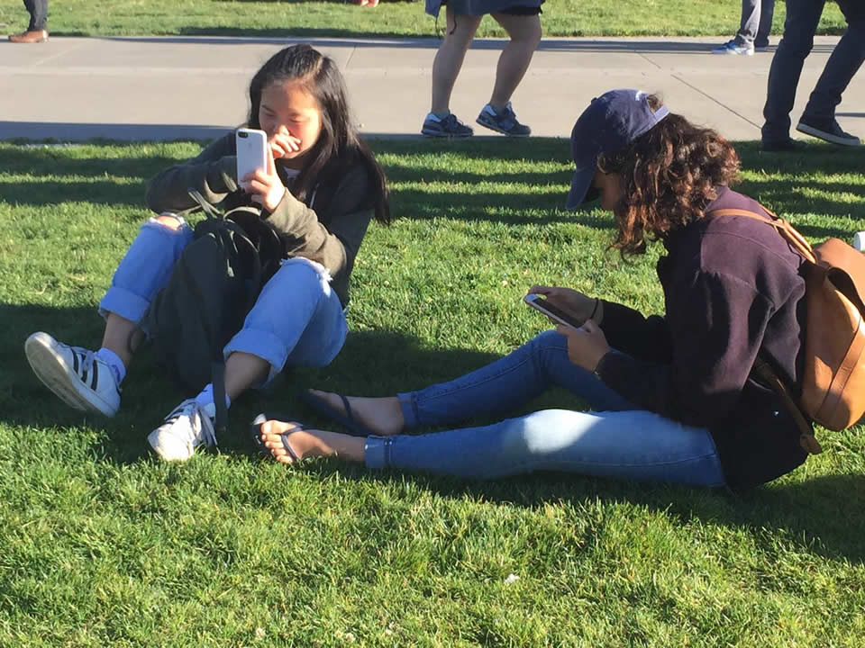 <div class='meta'><div class='origin-logo' data-origin='none'></div><span class='caption-text' data-credit='Katie Marzullo/KGO-TV'>Pokemon Go players sit in Dolores Park in San Francisco ahead of an event on Wednesday, July 20, 2016.</span></div>