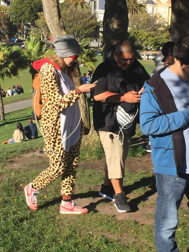 <div class='meta'><div class='origin-logo' data-origin='none'></div><span class='caption-text' data-credit='Katie Marzullo/KGO-TV'>Pokemon Go players walk around Dolores Park in San Francisco ahead of an event on Wednesday, July 20, 2016.</span></div>