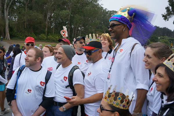 An estimated 20,000 people participated in the 28th annual AIDS Walk San Francisco, collectively raising more than two million. <span class=meta>KGO Photo</span>