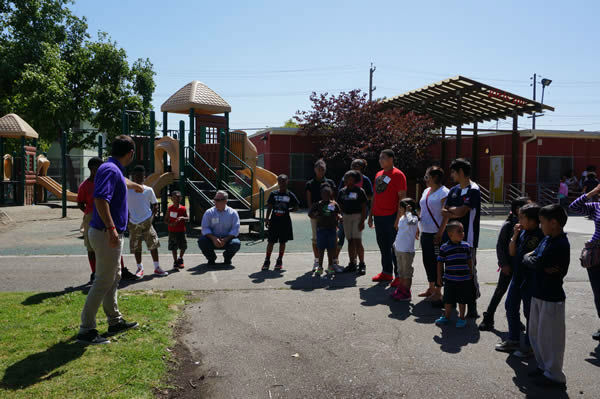 To design the new playground at Concordia Park, we called in the experts...Kids, parents and community members from the Millsmont neighborhood in Oakland! <span class=meta>KGO Photo</span>
