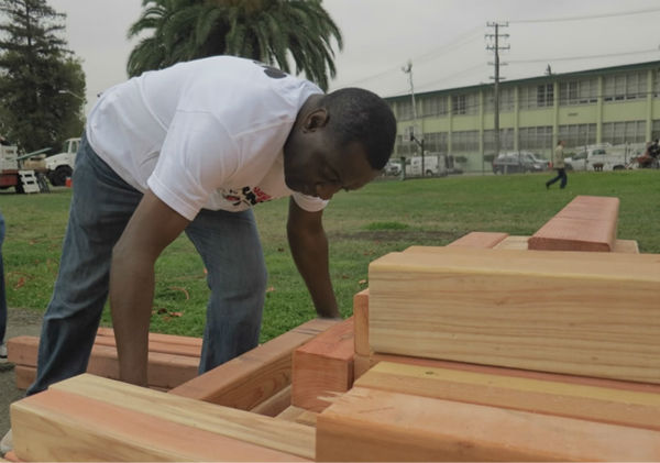 "<div class=""meta ""><span class=""caption-text "">ABC7 and KaBOOM team up to build a dream playground in the Millsmont neighborhood in East Oakland, California, August 8, 2014. (KGO Photo/ ABC7 News Reporter Wayne Freedman)</span></div>"