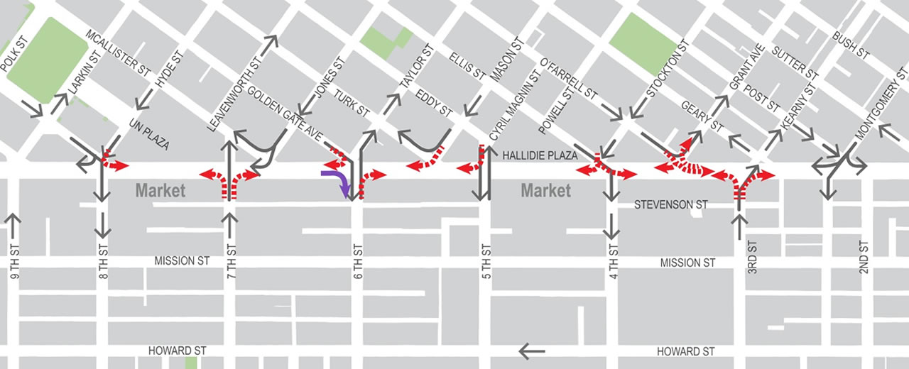 New restrictions on San Franciscos Market Street aim to prevent