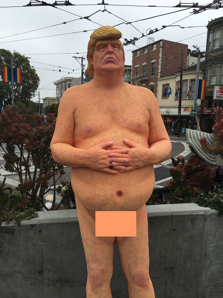 <div class='meta'><div class='origin-logo' data-origin='none'></div><span class='caption-text' data-credit='KGO-TV'>A nude statue of Donald Trump is seen in San Francisco's Castro District on Thursday, August 17, 2016.</span></div>