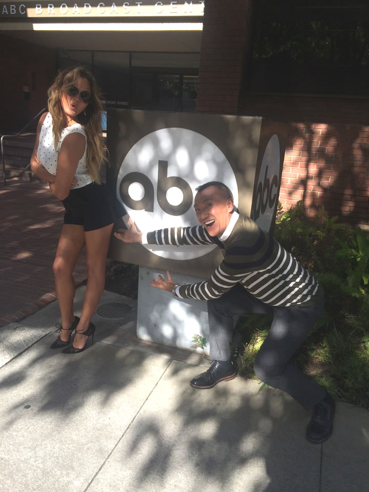 "<div class=""meta image-caption""><div class=""origin-logo origin-image none""><span>none</span></div><span class=""caption-text"">'FABLife' Lifestylists Chrissy Teigen and Joe Zee stopped by ABC7 in San Francisco on August 10, 2015. (KGO-TV)</span></div>"