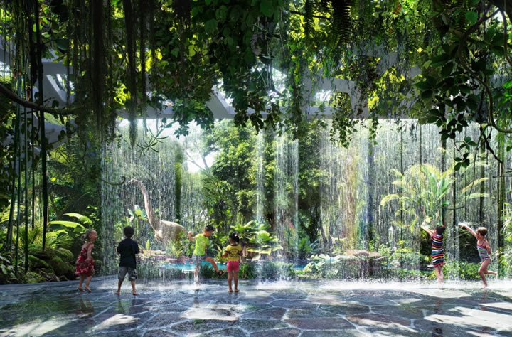<div class='meta'><div class='origin-logo' data-origin='none'></div><span class='caption-text' data-credit='ZAS Architects'>This undated image shows a rendering for a first-of-its-kind indoor tropical rainforest planned for the upcoming Rosemont Five Star Hotel & Residences in Dubai.</span></div>
