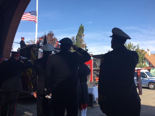 <div class='meta'><div class='origin-logo' data-origin='none'></div><span class='caption-text' data-credit='KGo-TV'>The Vallejo Fire Department held a memorial in Vallejo, Calif. on Monday, Sept. 11, 2017 to remember the lives lost in the 9/11 terror attack.</span></div>