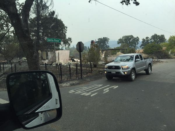 <div class='meta'><div class='origin-logo' data-origin='none'></div><span class='caption-text' data-credit='KGO-TV'>Highway 175 in MIddletown, Calif. was blocked by PG&E crews on Monday, September 14, 2015.</span></div>