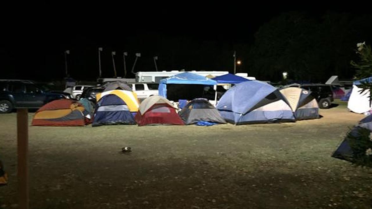 <div class='meta'><div class='origin-logo' data-origin='none'></div><span class='caption-text' data-credit='KGO-TV'>More than a thousand evacuees are at the Napa County Fairgrounds in Calistoga, Calif.,  because of the Valley Fire on Tuesday, September 15, 2015.</span></div>
