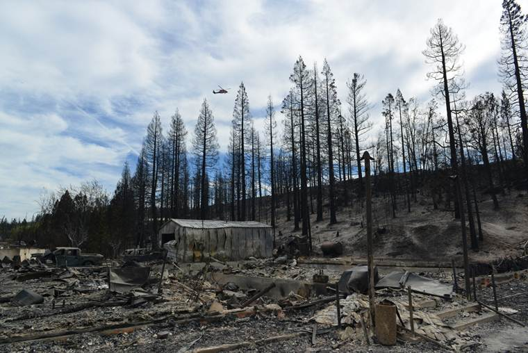 "<div class=""meta image-caption""><div class=""origin-logo origin-image ""><span></span></div><span class=""caption-text"">The Boles Fire near Weed, Calif. has destroyed 150 buildings and burned hundreds of acres.  (Wayne Freedman )</span></div>"
