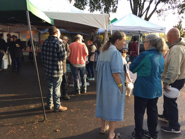 <div class='meta'><div class='origin-logo' data-origin='none'></div><span class='caption-text' data-credit='KGO-TV'>Victims of the Valley Fire line up for breakfast at the Napa County Fairgrounds in Calistoga, Calif. on Thursday, September 17, 2015.</span></div>