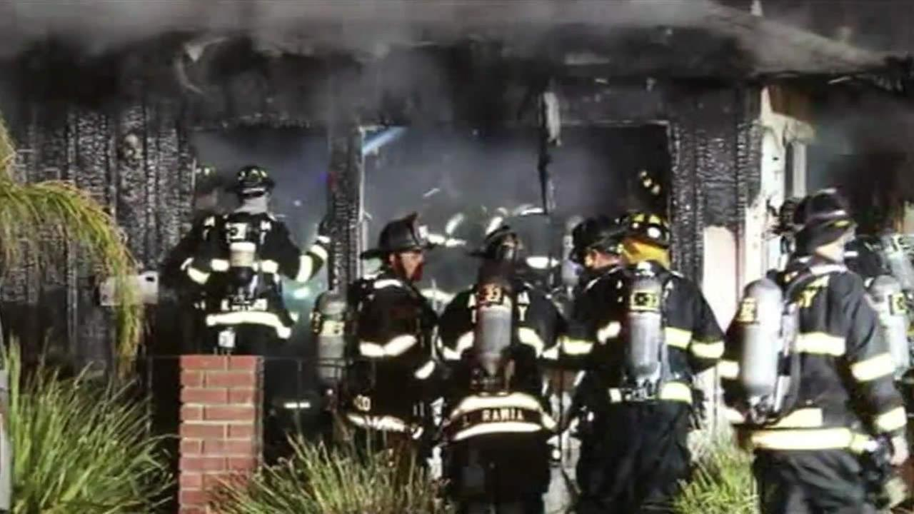 Investigators believe a gas heater may be to blame for a 1-alarm fire that destroyed a home in Union City Saturday morning.
