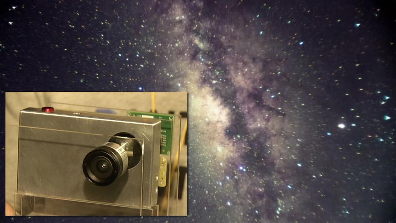 A new camera called Tinymos can take pictures of outer space, Sept. 28, 2015.