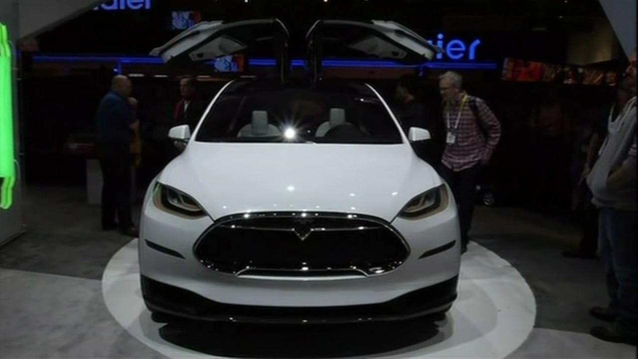 Teslas SUV, the Model X, was unveiled Sept. 29, 2015.
