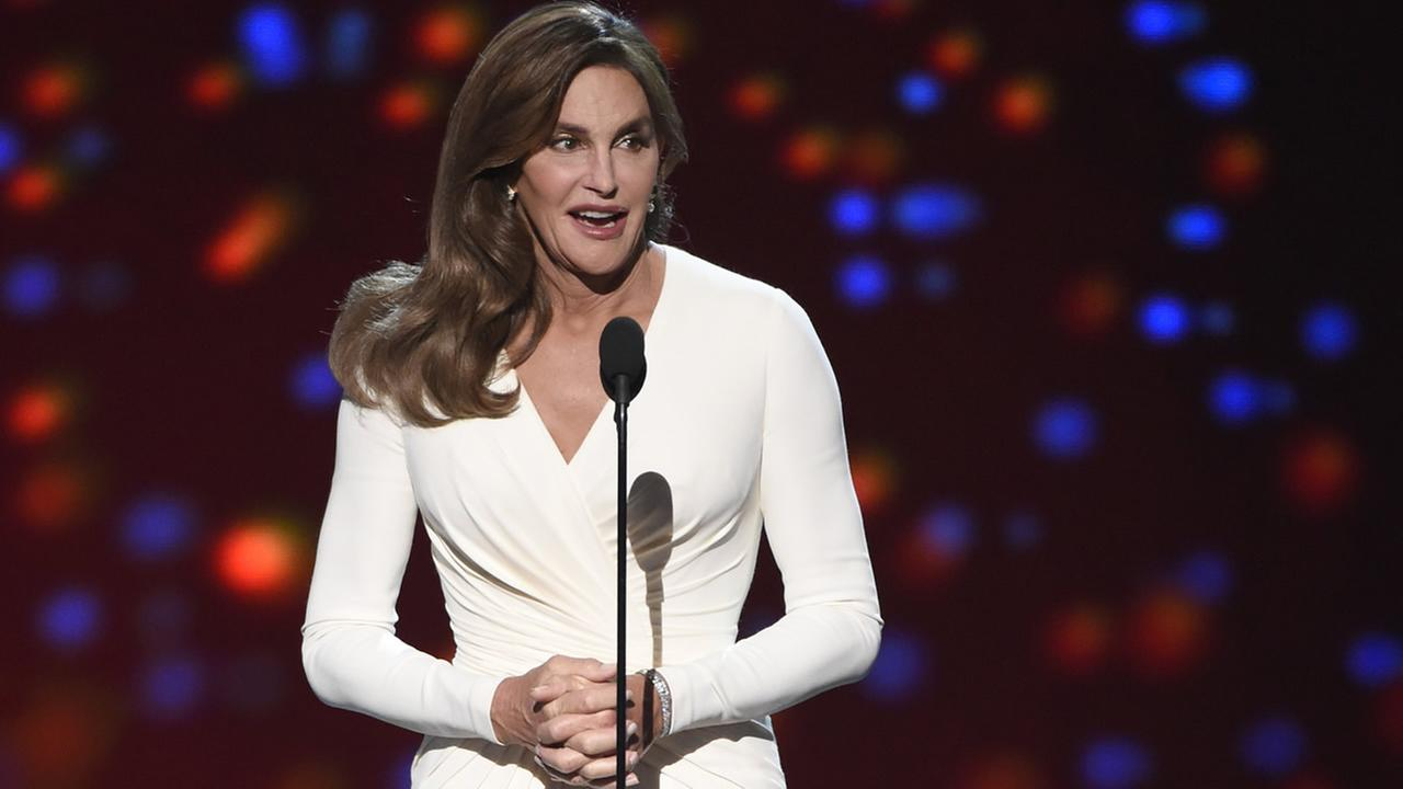 Caitlyn Jenner accepts the Arthur Ashe award for courage at the ESPY Awards at the Microsoft Theater on July 15, 2015, in Los Angeles. (Photo by Chris Pizzello/Invision/AP)