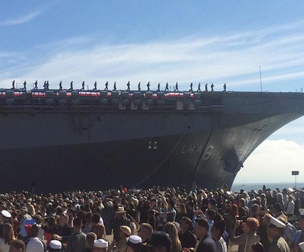 <div class='meta'><div class='origin-logo' data-origin='none'></div><span class='caption-text' data-credit=''>Commissioning ceremony held for USS America in San Francisco, Calif. on Saturday October 11, 2014.</span></div>