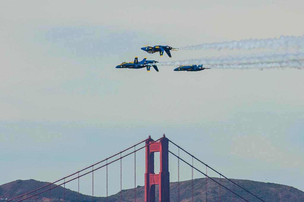 <div class='meta'><div class='origin-logo' data-origin='none'></div><span class='caption-text' data-credit='Photo submitted to KGO-TV by shepardbshepard/Twitter'>The Fleet Week air show featuring the Navy's Blue Angels and other military aircrafts took flight over the San Francisco Bay on Saturday, October 10, 2015.</span></div>