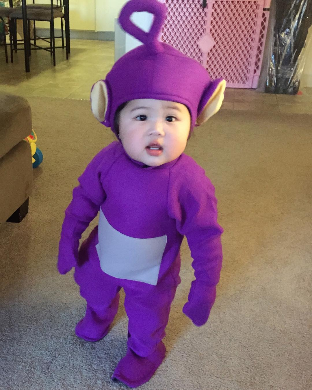 "<div class=""meta image-caption""><div class=""origin-logo origin-image none""><span>none</span></div><span class=""caption-text"">This little one loves Tinky Winky so much, she decided to dress up as the character for Halloween! Share your photos by tagging them on social media with #SpookyOn7! (Photo submitted to KGO-TV by @kiksdizon/Instagram)</span></div>"