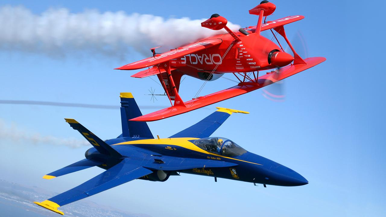 WATCH LIVE: Blue Angels take flight over San Francisco in Fleet Week air show