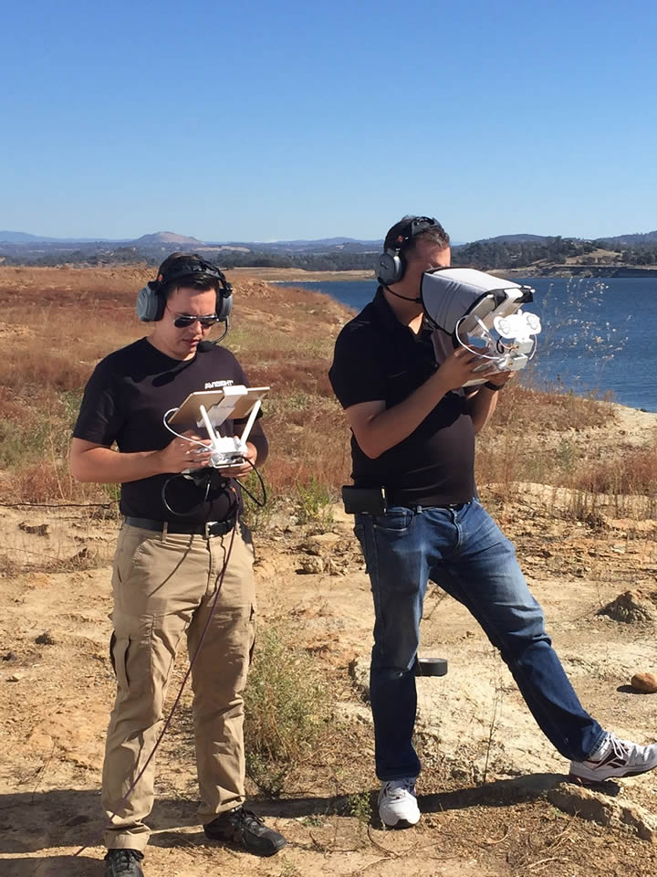 "<div class=""meta image-caption""><div class=""origin-logo origin-image none""><span>none</span></div><span class=""caption-text"">The operators of DroneView7 are seen by the Camanche Reservoir near Stockton, Calif. on Thursday, October 29, 2015. (KGO-TV)</span></div>"