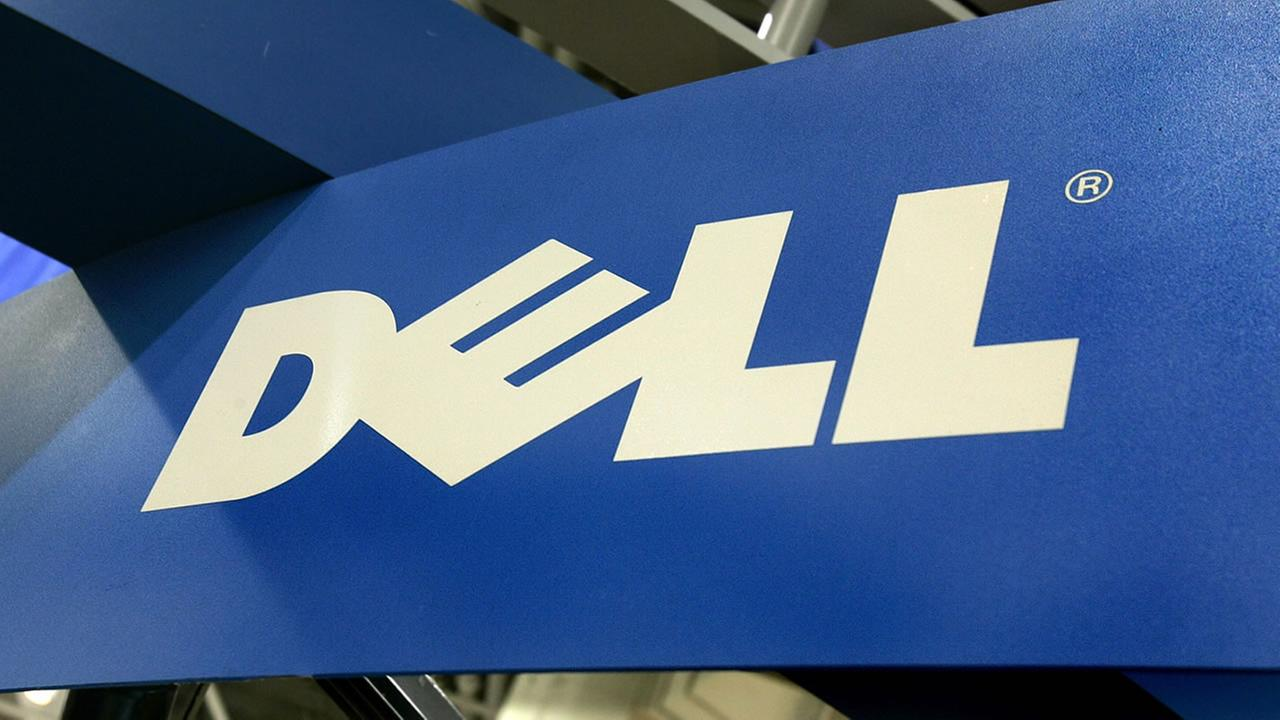 In this file photo taken March 22, 2006, the Dell corporate logo is displayed in a Salt Lake City. (AP Photo/Douglas C. Pizac, File)