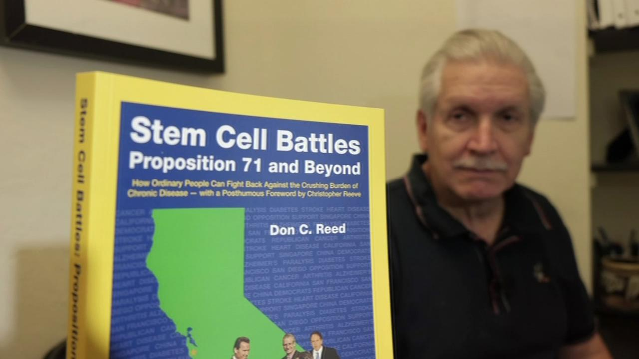 FILE - A man named Don Reed who wrote a book called Stem Cell Battles: Proposition 71 and Beyond is seen in this undated image.
