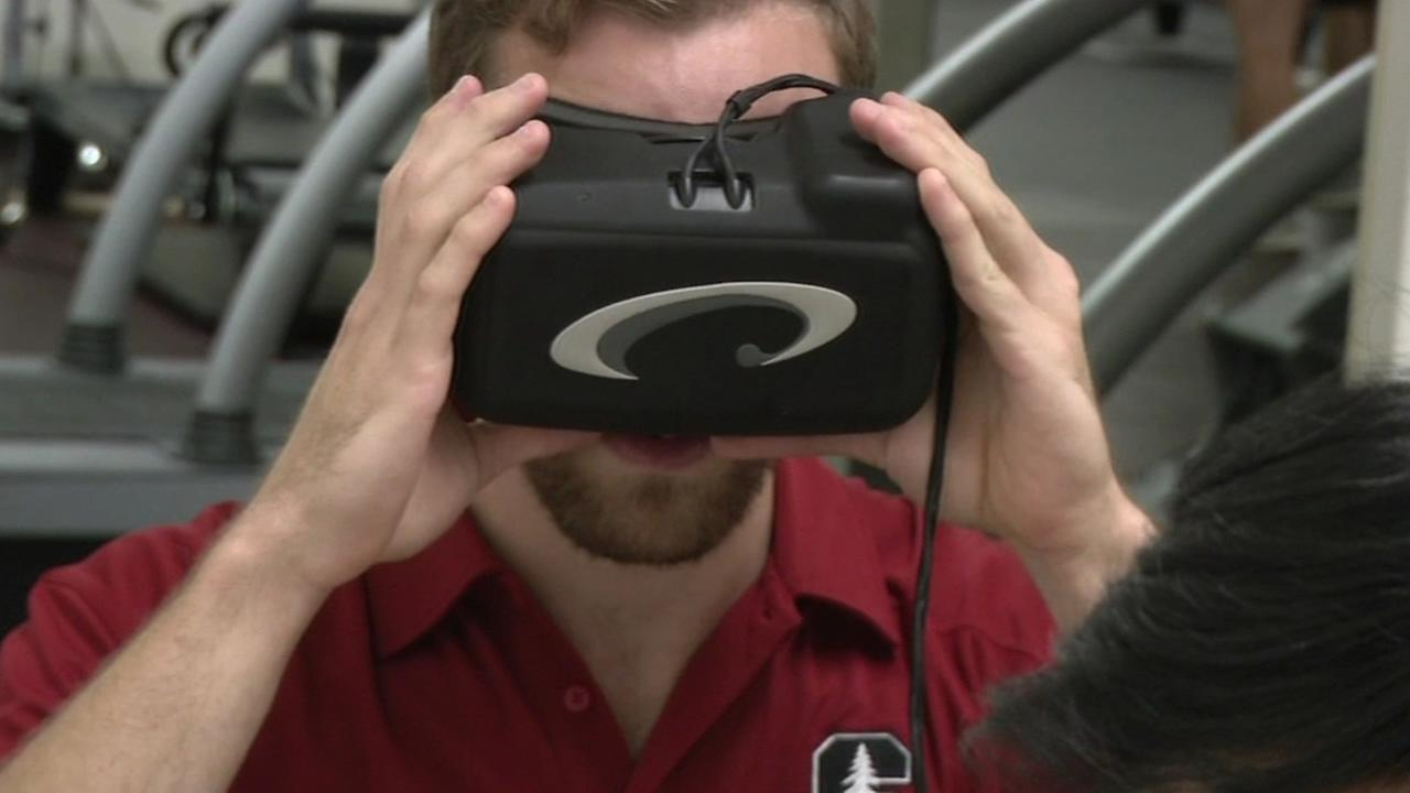 A group of Stanford researchers are testing a device that detects concussions immediately.