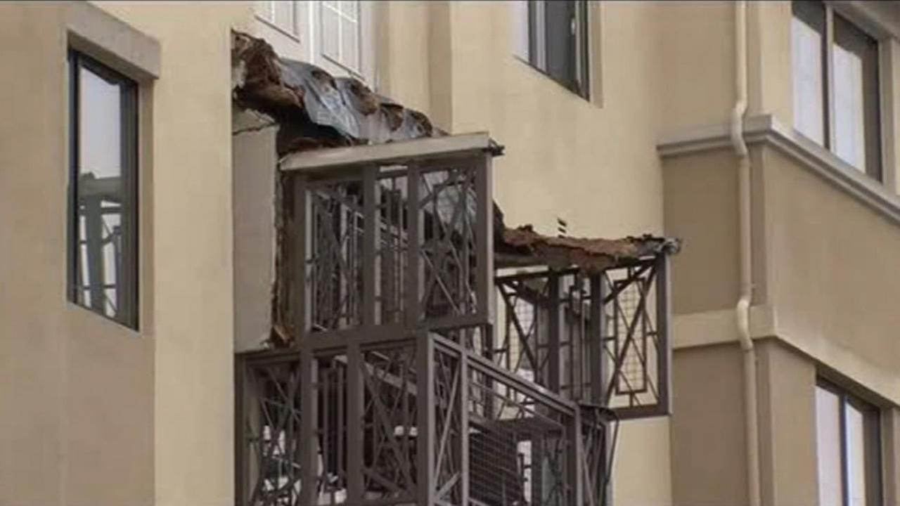 FILE - Berkeley building inspectors are on the scene of a tragic balcony collapse that occurred on Monday, June 15, 2015.